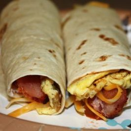 two-breakfast-burritos-on-plate